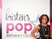 step and repeat party photo booth backdrop