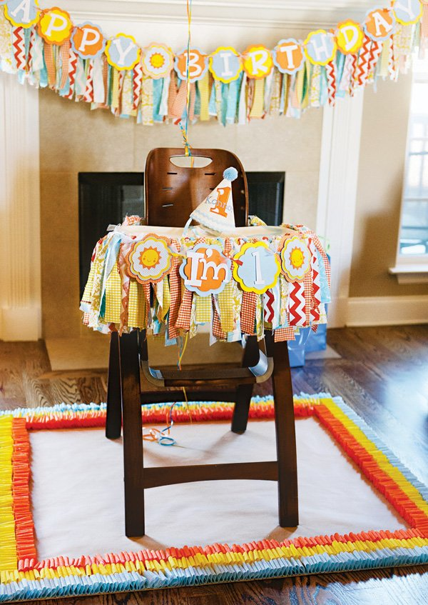 sunshine first birthday high chair