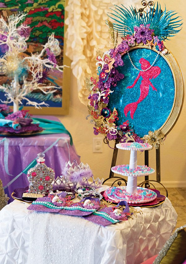 the little mermaid dress up makeover station