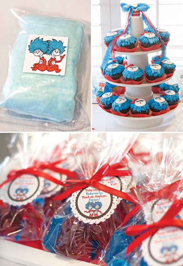 thing 1 and thing 2 dr. seuss party favors
