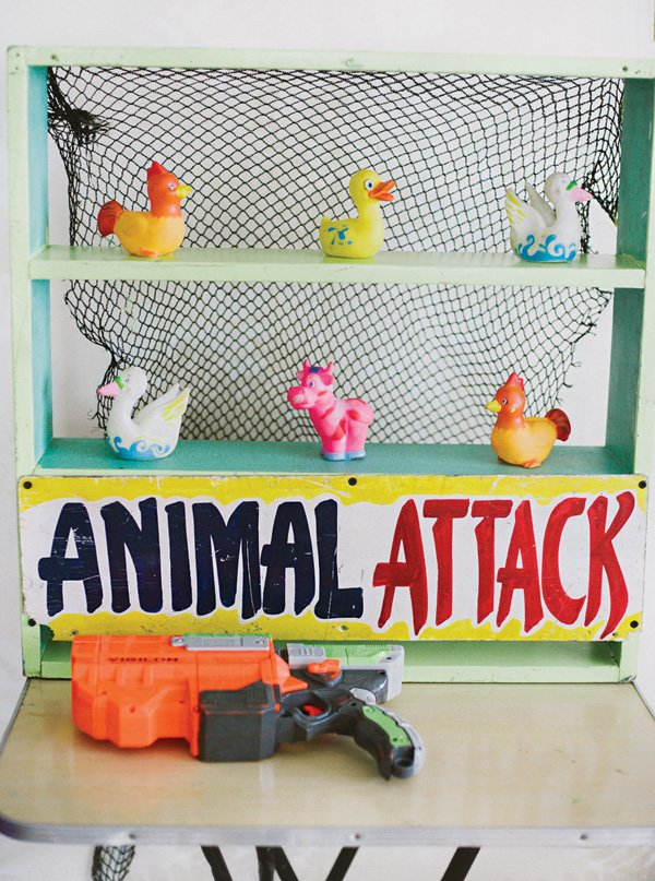 toy animal shooting party game