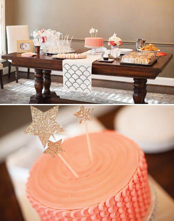 twinkle twinkle little star dessert table