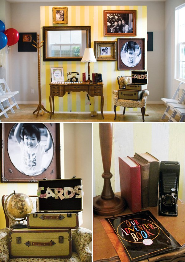 UP themed vintage decor