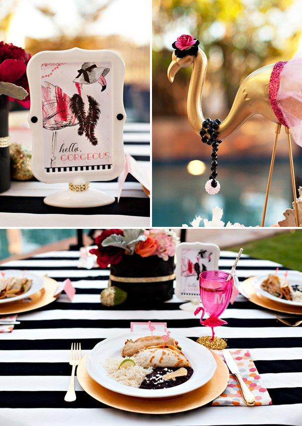 DIY flamingo party ideas