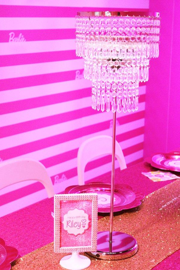 Barbie-chandelier-centerpiece