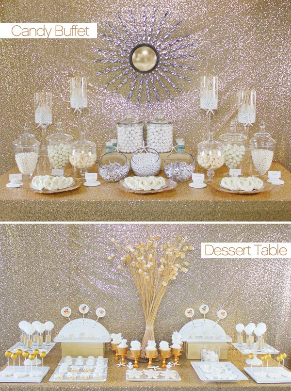 The Look for Less: Candy Buffet vs. Dessert Tables ...