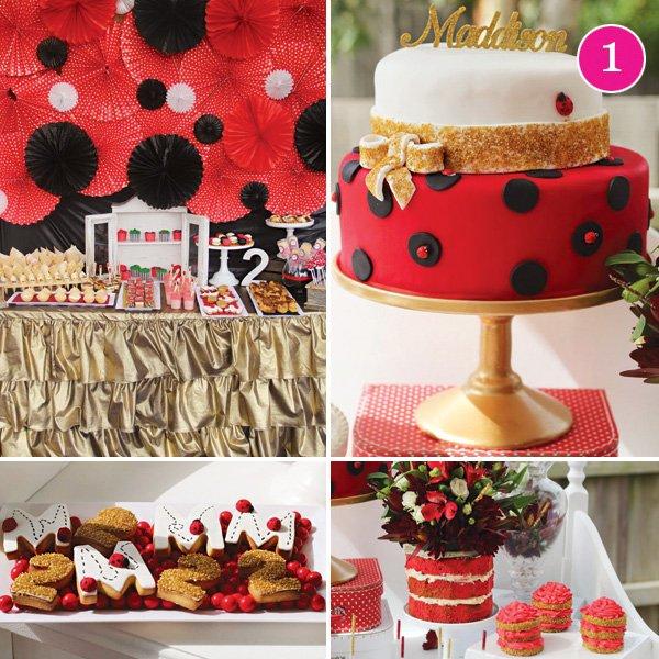 ladybug 2nd birthday party picnic
