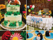 Masha the Bear birthday party