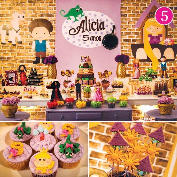 Disney's Tangled Rapunzel Birthday Party