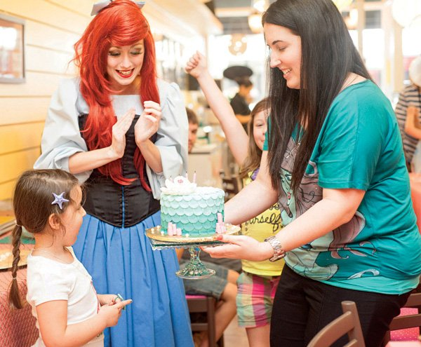 ariel from the little mermaid party character