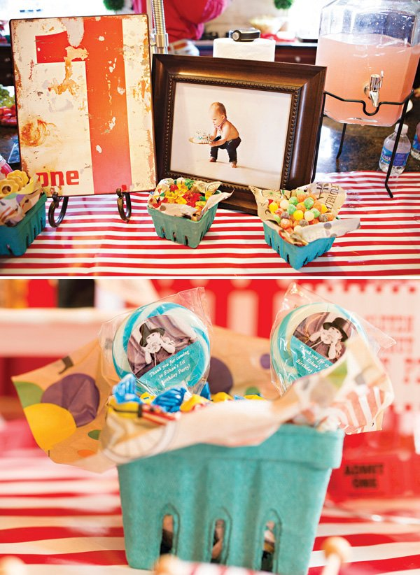 candy basket party favors