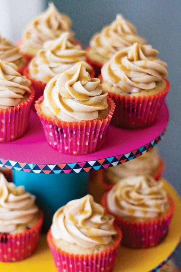 caramel latte cupcakes