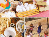 chicken egg hunt party game