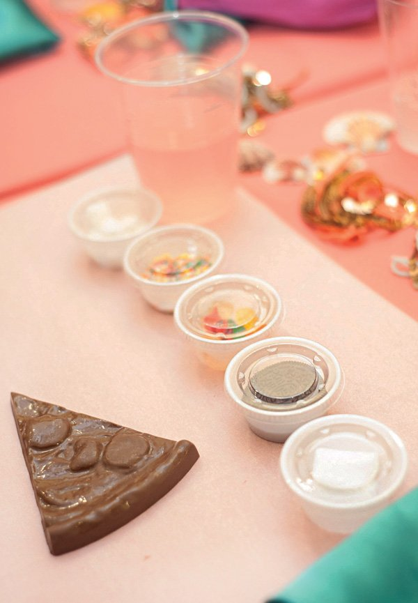 chocolate pizza decorating party activity