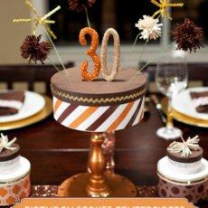 diy birthday cake centerpiece tutorial
