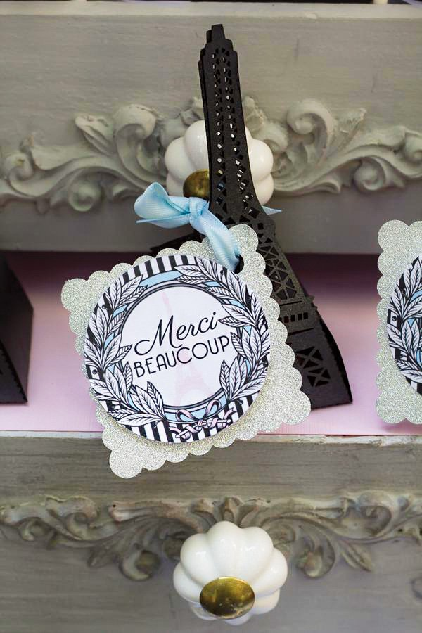 eiffel tower party favors