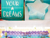 follow your dreams party sign