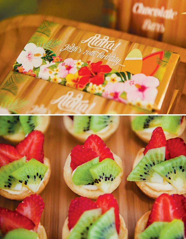 fresh fruit mini tarts