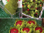 garden themed dessert and decor ideas