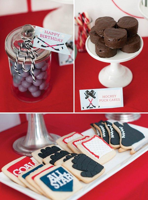hockey party dessert ideas