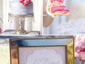 parisian bridal shower cake and dessert ideas