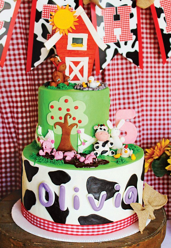 Sunny Sweet Farm Animals Birthday Party Hostess with the Mostess
