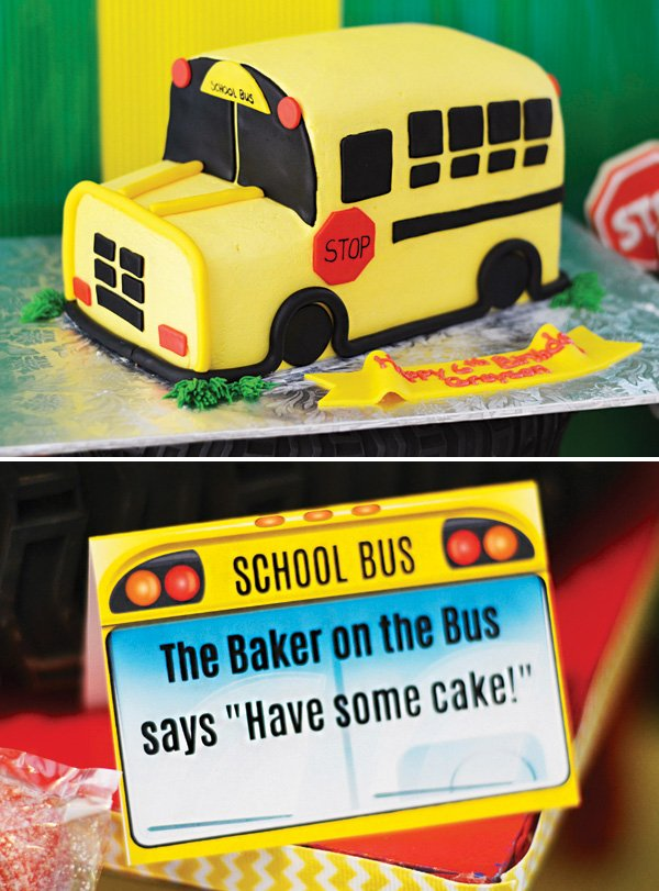 How To Make A Bus Cake