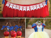snow white and the seven dwarfs birthday party ideas