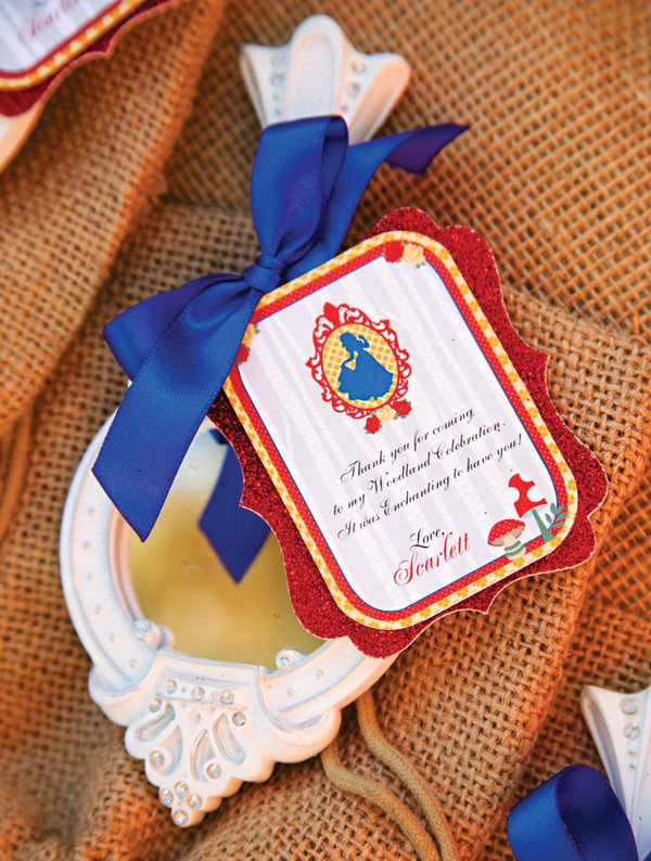 snow white magic mirror party favors