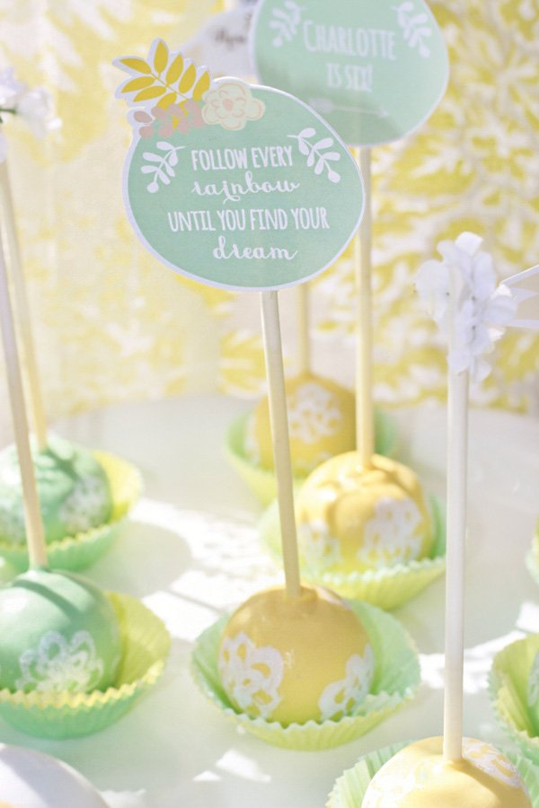 sound of music cake pops