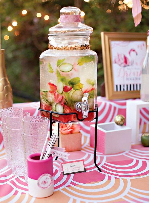 strawberry cucumber mint water