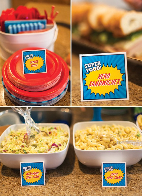 super hero party food ideas
