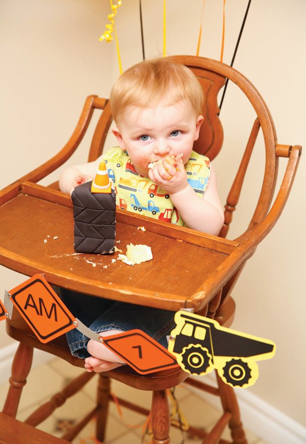 tire cake first birthday smash cake