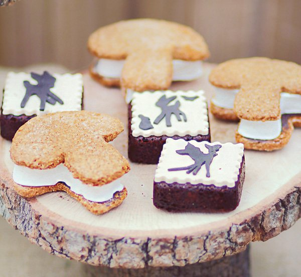 toadstool cookie ice cream sandwiches