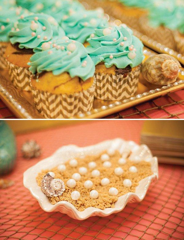 under the sea pearl desserts