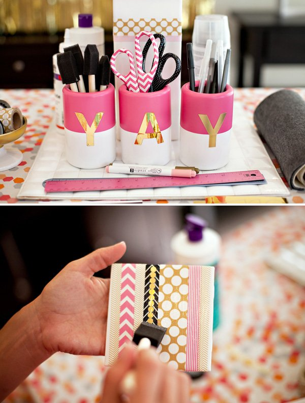 Girls Night Craft Project - Tile Drink Coasters