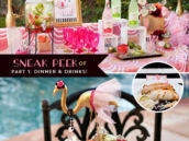 Flamingo Party Food and Drinks