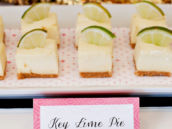 Key Lime Pie Cheesecake Bites