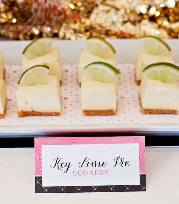 Key Lime Pie Cheesecake Bites