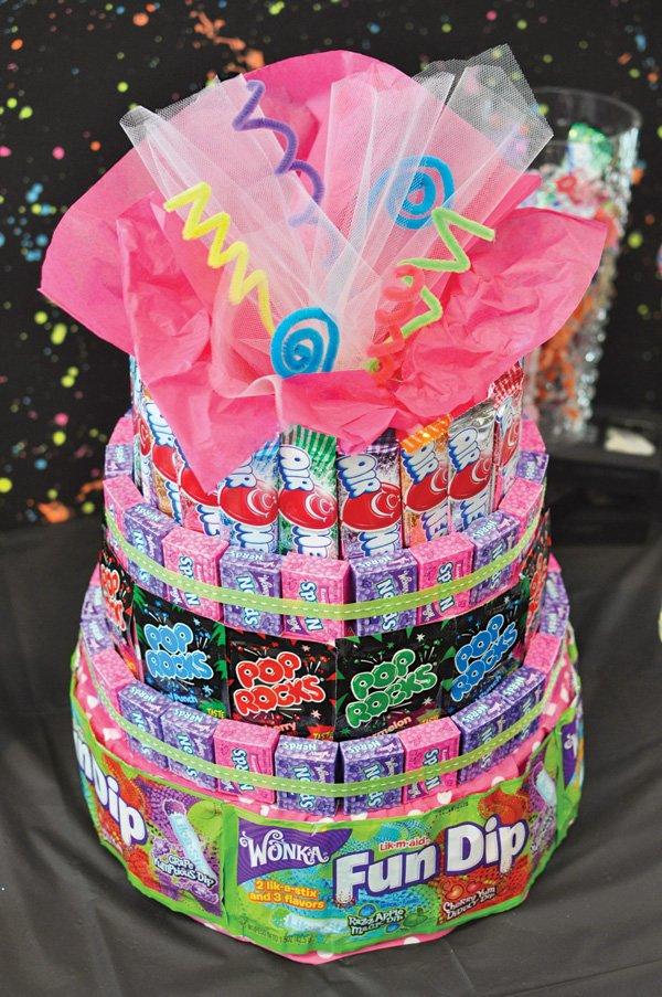 80s kids candy 'cake'