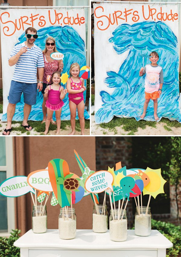Surfs Up Summer Family Beach Bash Hostess With The