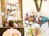 rustic garden birthday party