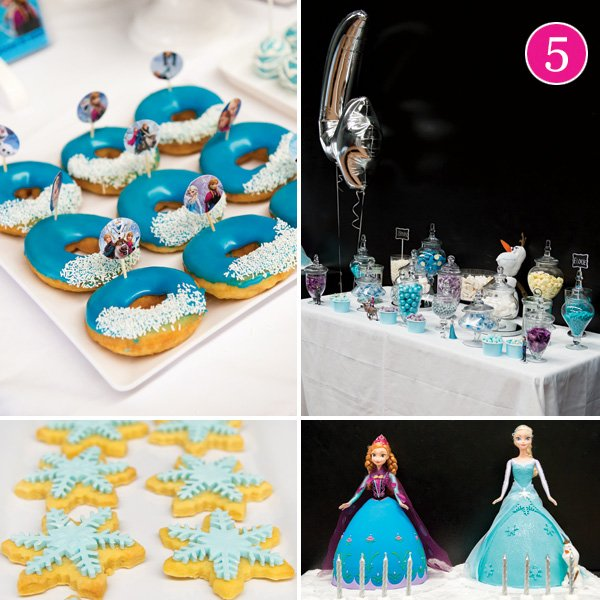 twins' frozen birthday party