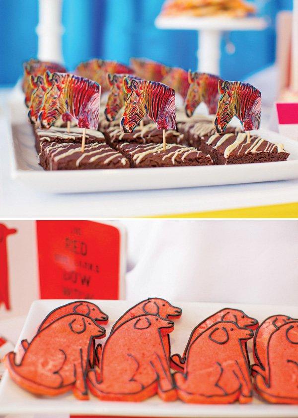 andy warhol pop art desserts