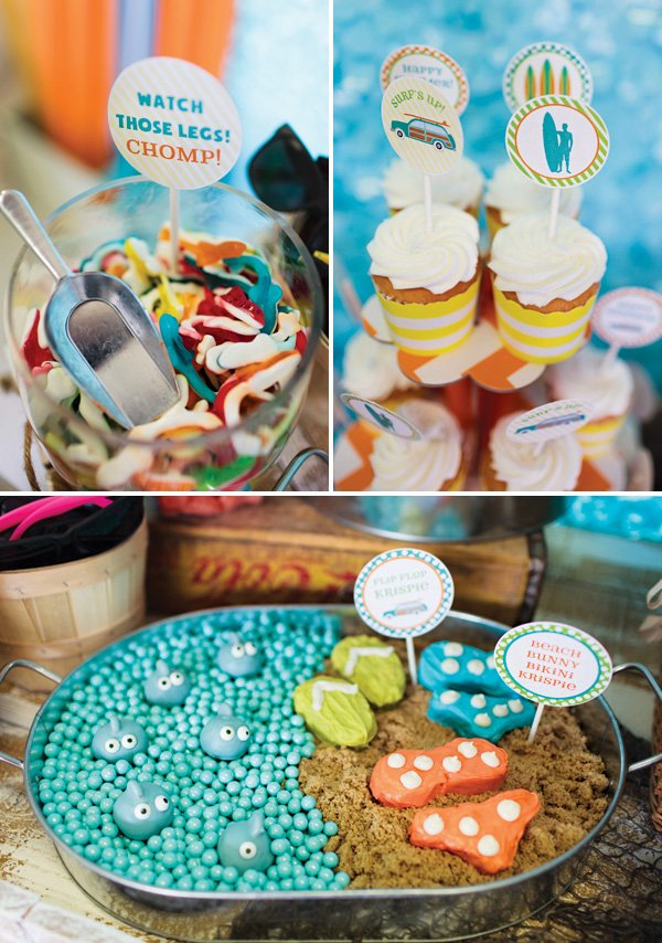 beach party dessert ideas