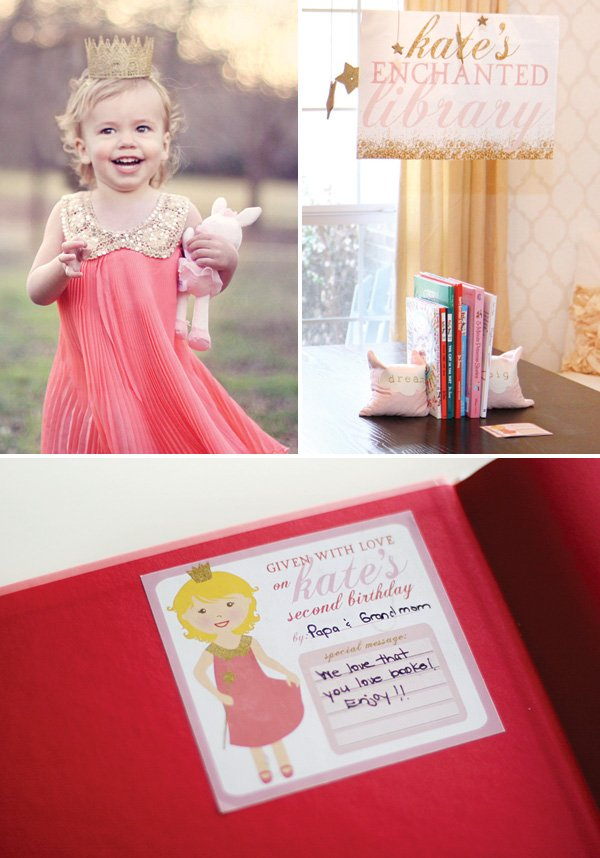 birthday library book gifts and printable book stickers