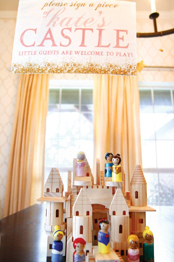 birthday party castle guestbook