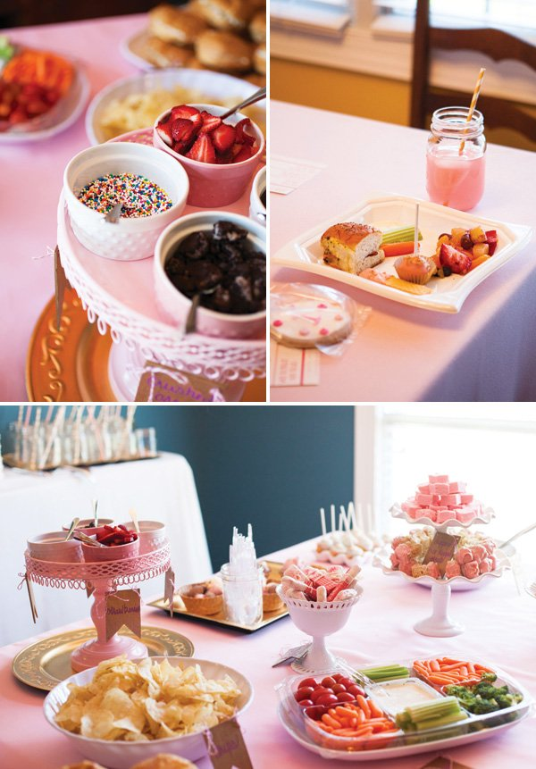 birthday party food display ideas