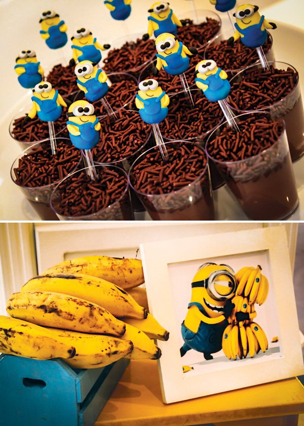 birthday party minion bananas