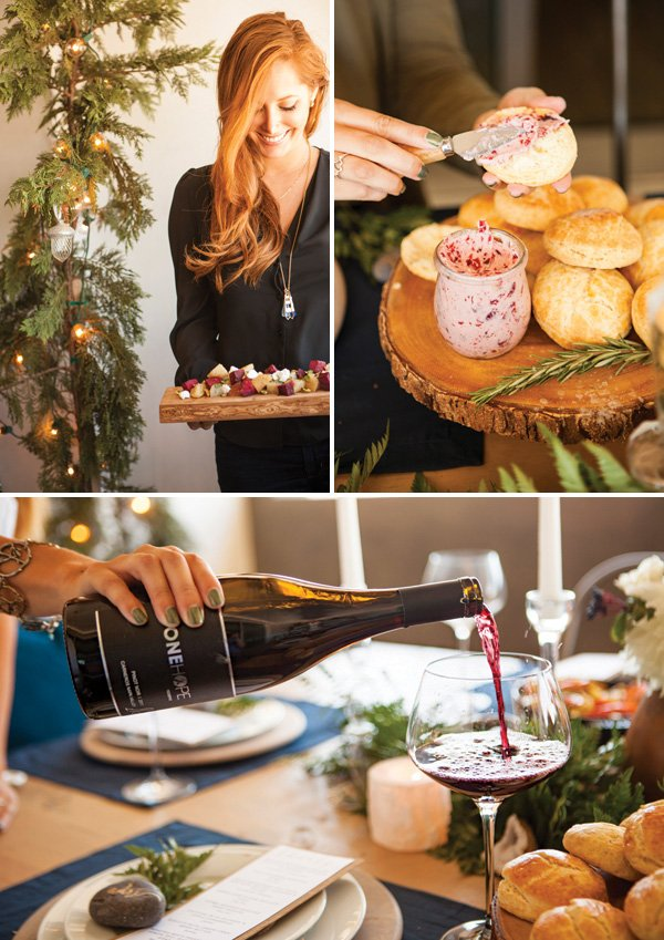 Christmas In July Party Food.Christmas In July A Festive Elegant Summer Dinner Party